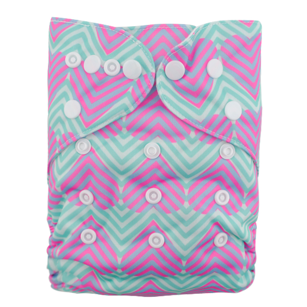 LBB(TM) Baby Resuable Washable Pocket Cloth Diaper,Hearts